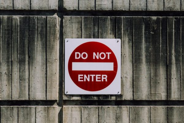 no entry_219
